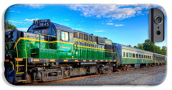 David iPhone Cases - The Adirondack Scenic Railroad 2 iPhone Case by David Patterson