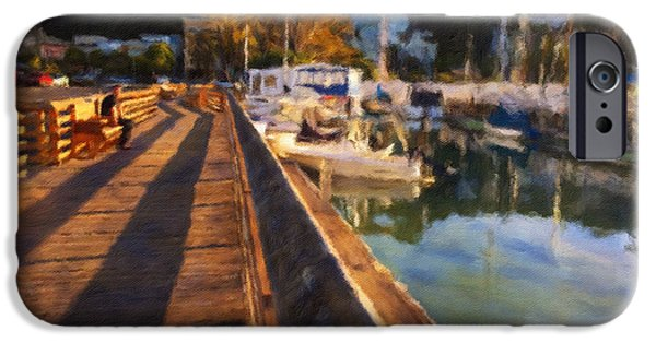 Sausalito iPhone Cases - The Admirer iPhone Case by Jonathan Nguyen