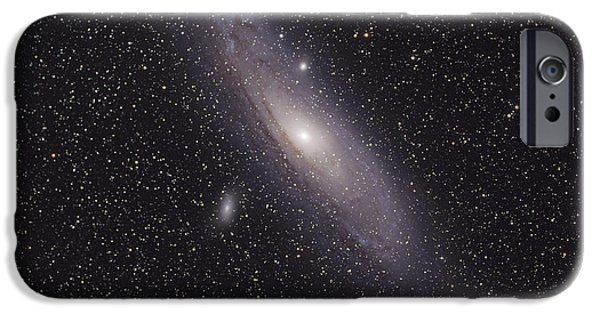 Stellar iPhone Cases - The Andromeda Galaxy iPhone Case by Phillip Jones