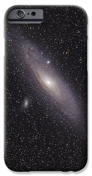 The Andromeda Galaxy iPhone Case by Phillip Jones
