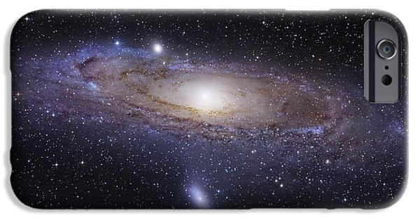 Color Image iPhone Cases - The Andromeda Galaxy iPhone Case by Robert Gendler