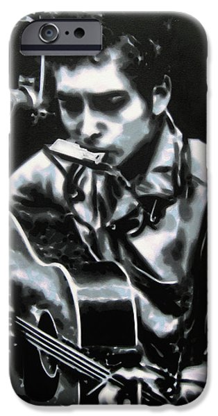 Ludzska iPhone Cases - The answer my friend is blowin in the wind iPhone Case by Luis Ludzska