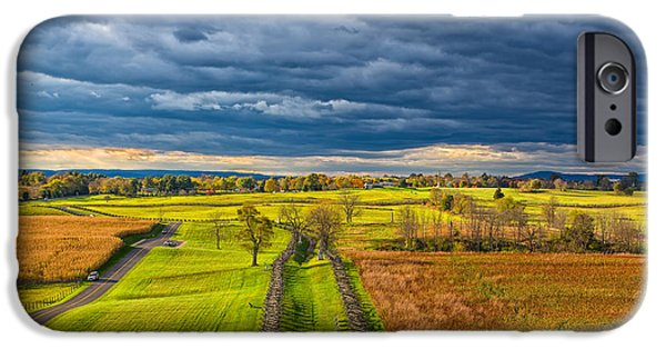 Historic Site iPhone Cases - The Antietam Battlefield iPhone Case by John Bailey