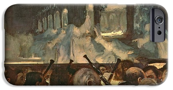 Roberto iPhone Cases - The ballet scene from Meyerbeers opera Robert le Diable iPhone Case by Edgar Degas