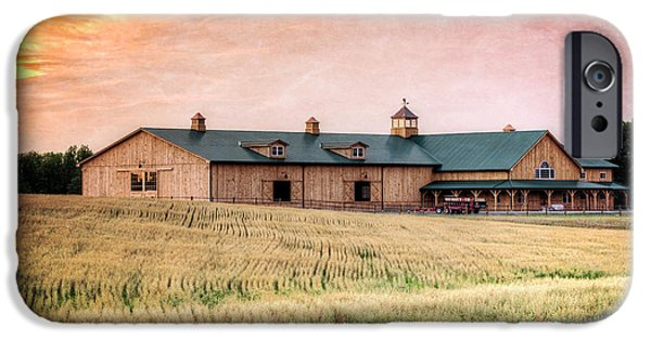 Barns iPhone Cases - The Barn II iPhone Case by Everet Regal