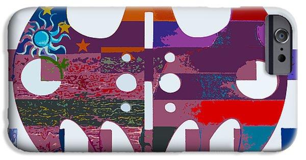Batman Print iPhone Cases - The Batman Signals 5 iPhone Case by Robert Margetts