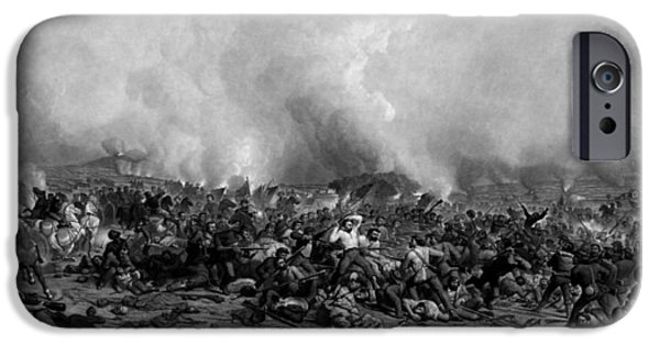 Battlefield iPhone Cases - The Battle of Gettysburg iPhone Case by War Is Hell Store