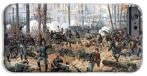 Canon iPhone Cases - The Battle of Shiloh iPhone Case by War Is Hell Store
