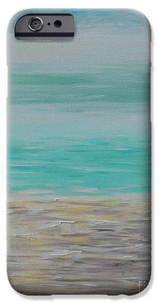 Business iPhone Cases - The Beach iPhone Case by Greg Moores