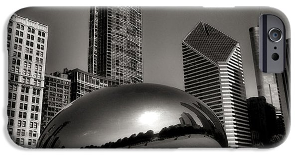 The Bean iPhone Cases - The Bean - 4 iPhone Case by Ely Arsha