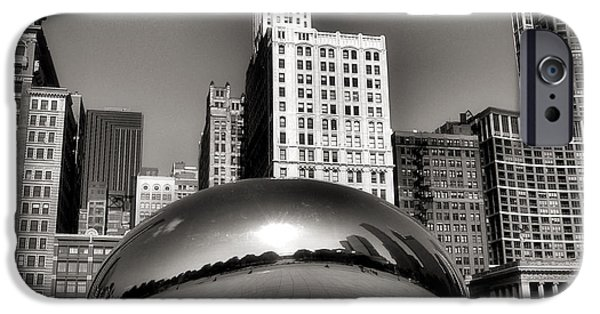 The Bean iPhone Cases - The Bean - 3 iPhone Case by Ely Arsha