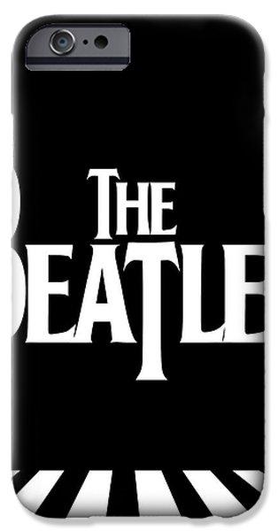 The Beatles No.03 iPhone Case by Caio Caldas