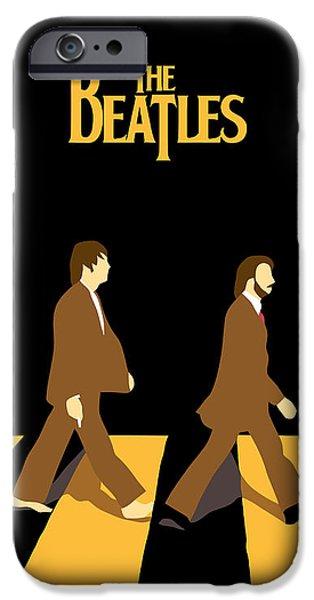 The Beatles No.19 iPhone Case by Caio Caldas