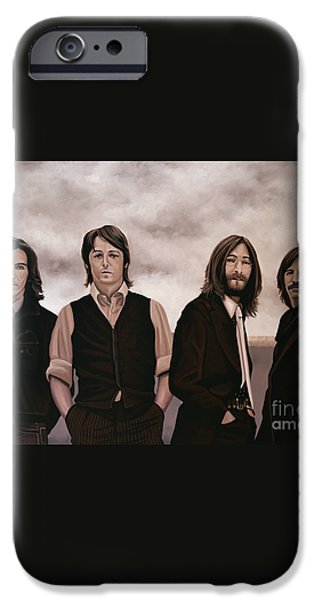 The Beatles iPhone Case by Paul Meijering