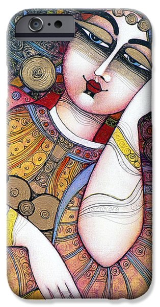 Albena iPhone Cases - The Beauty iPhone Case by Albena Vatcheva
