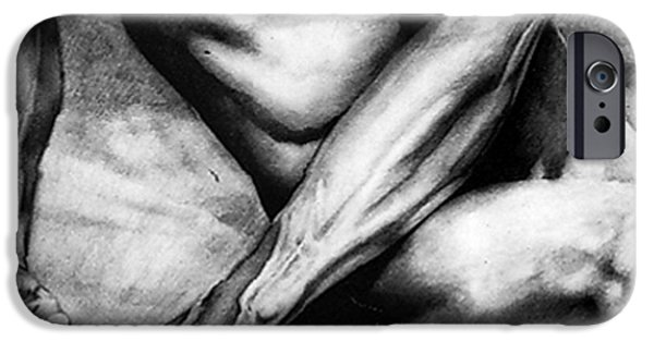 Figures iPhone Cases - The Beauty Of A Nude Man iPhone Case by Rjf at beautifullart  RJ   Friedenthal