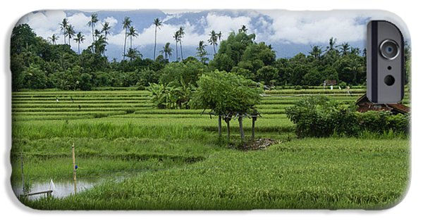 Field. Cloud iPhone Cases - The Beauty of Bali iPhone Case by Michele Burgess
