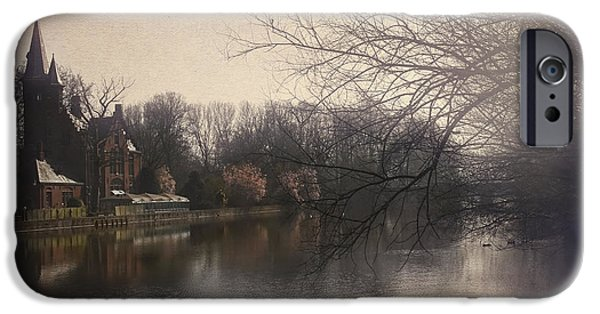 Buildings iPhone Cases - The Beauty of Brugge iPhone Case by Carol Japp