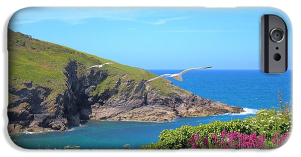 Marine iPhone Cases - The Beauty Of Cornwall iPhone Case by Rumyana Whitcher