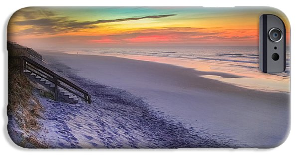 Topsail iPhone Cases - THE BEAUTY of TOPSAIL ISLAND iPhone Case by Karen Wiles