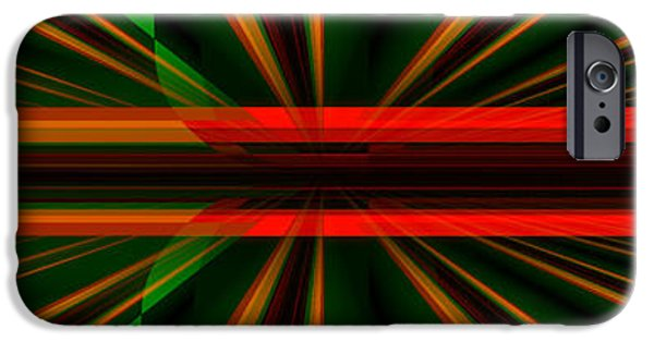 Abstract Digital Photographs iPhone Cases - The Bend where is no Bend iPhone Case by Andy Klamar