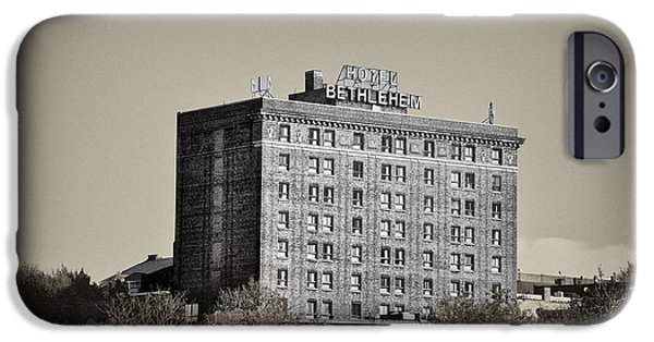 Bethlehem iPhone Cases - The Bethlehem Hotel iPhone Case by Bill Cannon