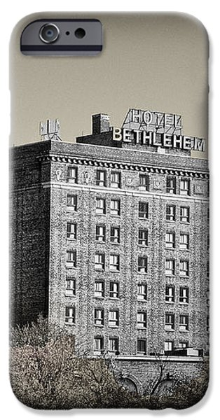 The Bethlehem Hotel iPhone Case by Bill Cannon