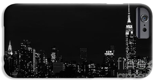 Empire State iPhone Cases - The Big Apple iPhone Case by MingTa Li