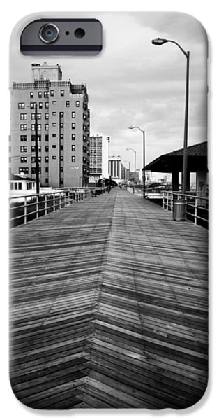 The Boardwalk iPhone Case by Linda Sannuti