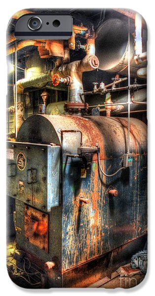 The Boiler Room iPhone Case by Michael Garyet