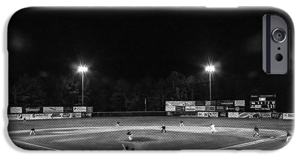1st Base iPhone Cases - The Boys of Summer iPhone Case by Eddie Mathis