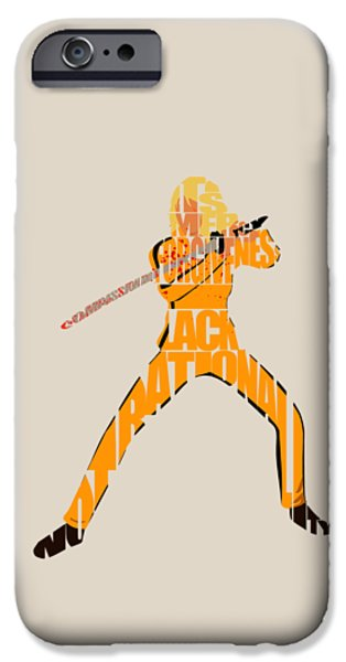 Kill Bill iPhone Cases - The Bride iPhone Case by Ayse Deniz