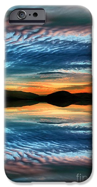 The Brush Strokes of Evening iPhone Case by Tara Turner