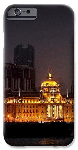 The Bund - More than Shanghai's most beautiful landmark iPhone Case by Christine Till