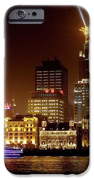 The Bund - Shanghai's magnificent historic waterfront iPhone Case by Christine Till
