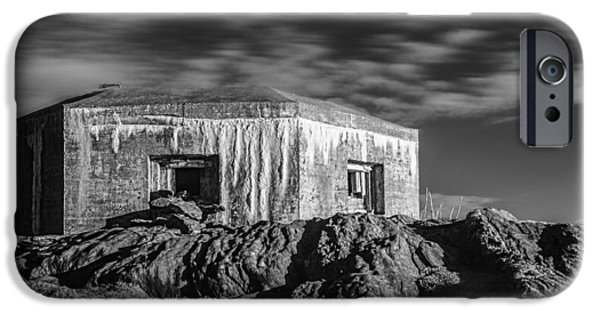 Norway iPhone Cases - The Bunker iPhone Case by Erik Brede