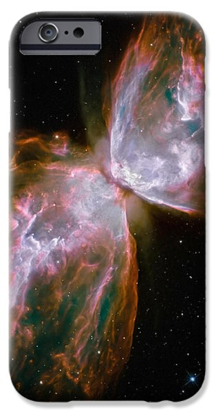 The Butterfly Nebula iPhone Case by Stocktrek Images