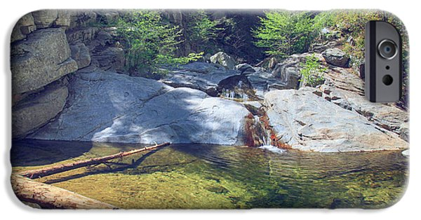 Creek iPhone Cases - The Calming Waters iPhone Case by Laurie Search