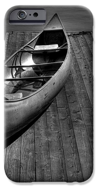 Canoe iPhone Cases - The Canoe iPhone Case by David Patterson
