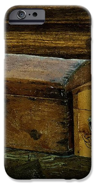 The Captain's Cabin iPhone Case by RC DeWinter
