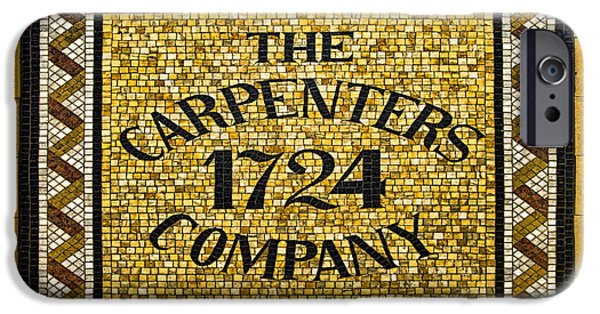 Guild iPhone Cases - The Carpenters Company iPhone Case by Stephen Stookey