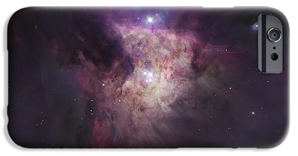 Stellar iPhone Cases - The Center Of The Orion Nebula The iPhone Case by Robert Gendler