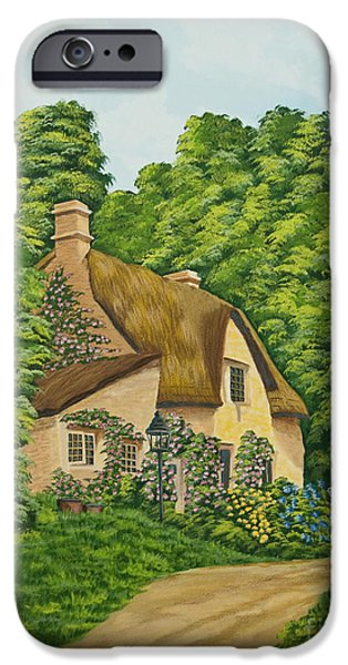 The Charm Of Wiltshire iPhone Case by Charlotte Blanchard