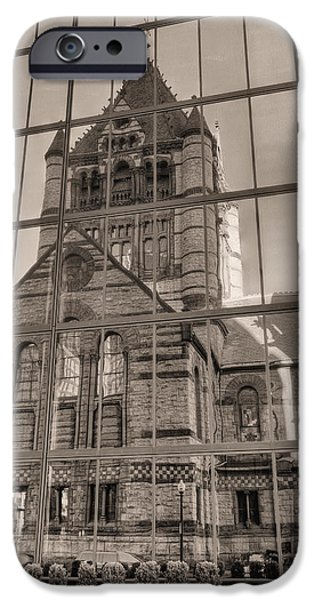 Boston Ma Photographs iPhone Cases - The Church iPhone Case by JC Findley