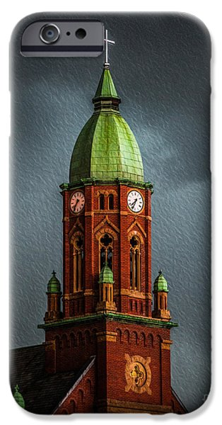 St John The Evangelist Photographs iPhone Cases - The Church  iPhone Case by Michael Arend