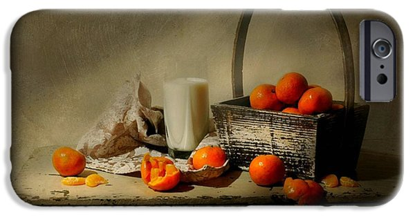 Basket iPhone Cases - The Clementine Basket iPhone Case by Diana Angstadt
