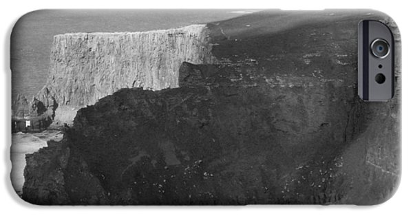 Atlantic iPhone Cases - The Cliffs of Mohar II - Ireland iPhone Case by Mike McGlothlen