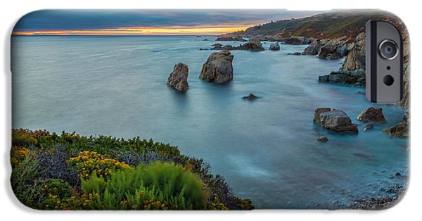 Beach Landscape iPhone Cases - The Colors of Summer iPhone Case by Jonathan Nguyen