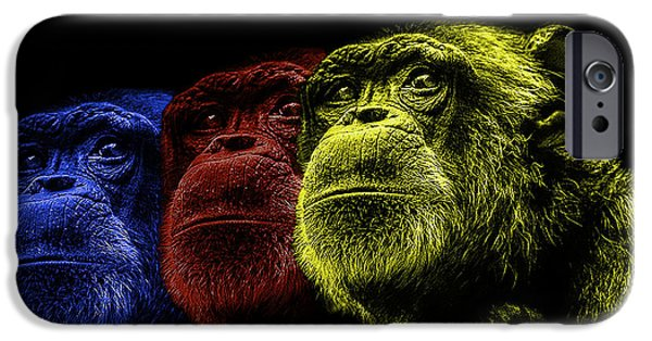 Contemporary Photographs iPhone Cases - The colours of Trepidation  iPhone Case by Paul Neville