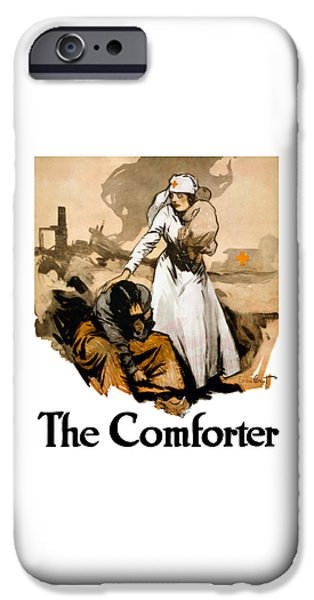 Ww1 iPhone Cases - The Comforter iPhone Case by War Is Hell Store